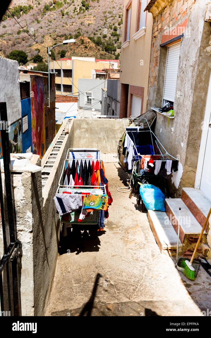Street scene, San Isidro, Orihuela, Spain - Stock Image