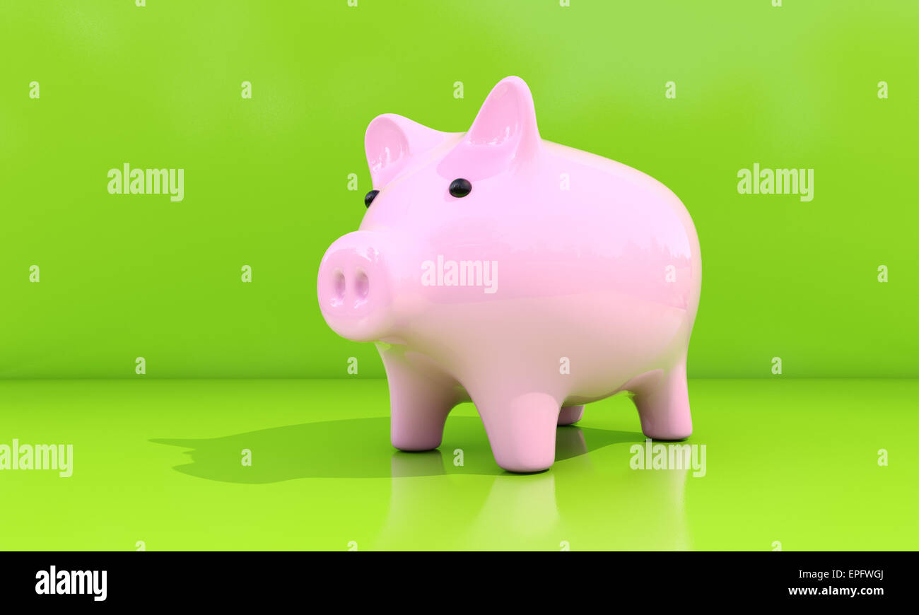 Piggy bank - Stock Image