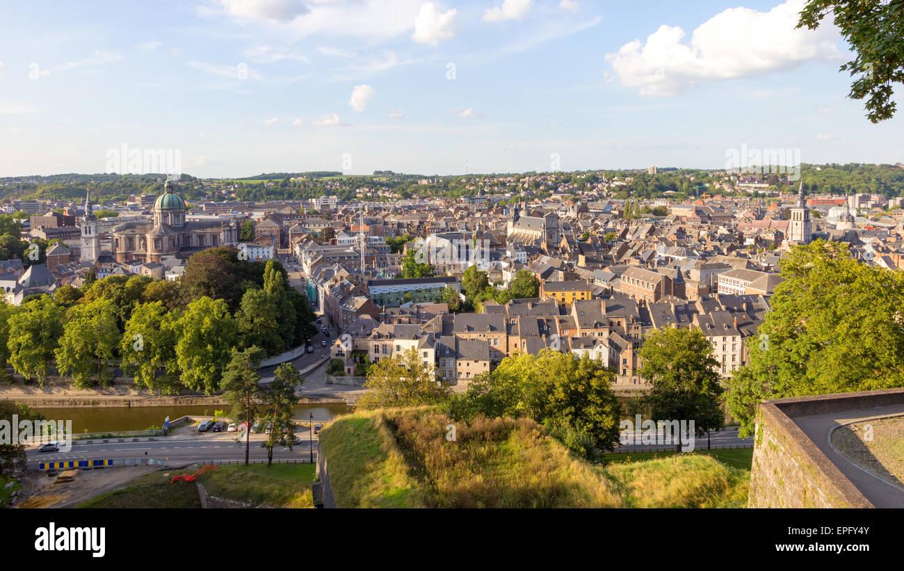 Namur city, Ardennes, Belgium - Stock Image