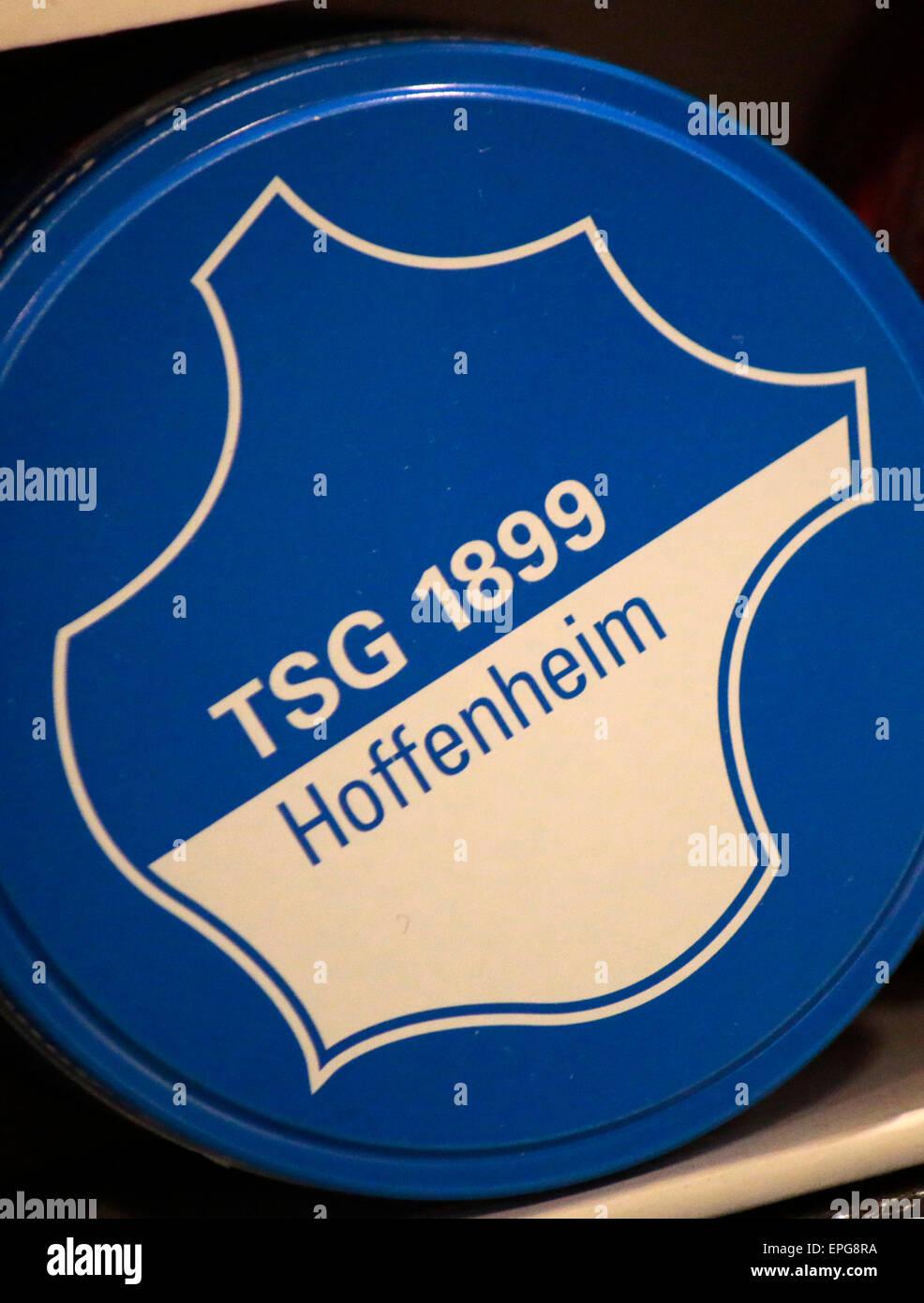 Markennamen: 'TSG 1899 Hoffenheim', Berlin. - Stock Image