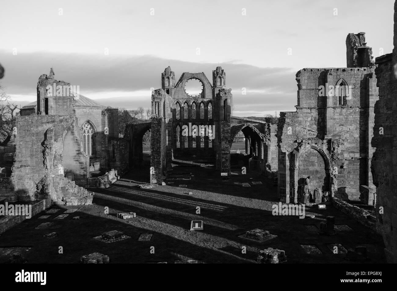 Elgin Cathedral, Scotland, UK, United Kingdom Stock Photo