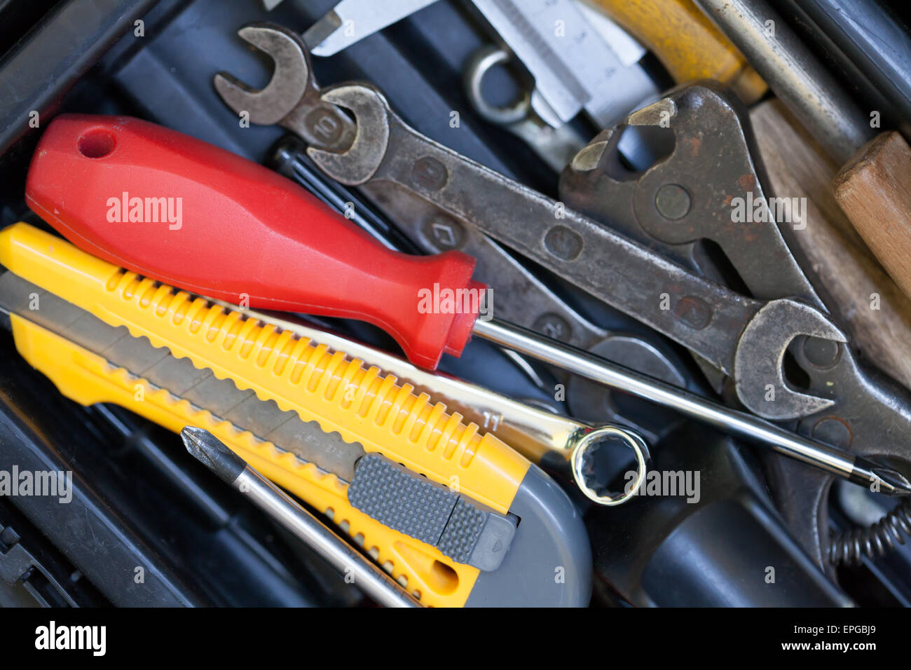 Different tools - Stock Image