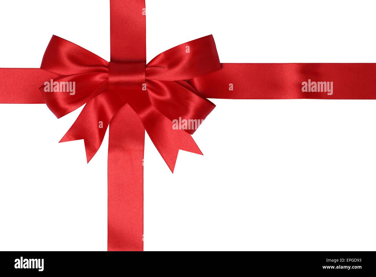 Geschenk Karte mit Schleife f├╝r Geschenke an Weihnachten oder ...