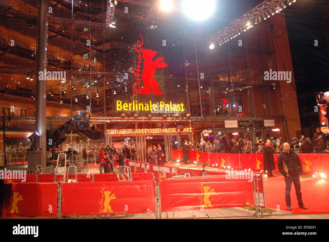 FEBRUARY 16, 2007 - BERLIN: impressiones from the Berlinale Film Festival 2007. - Stock Image