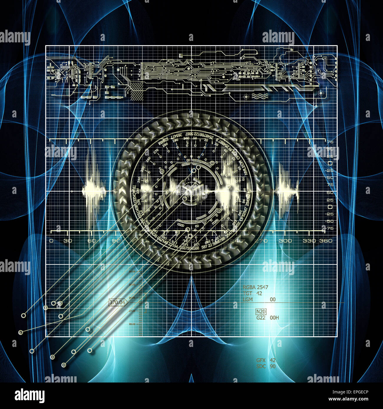 New Time Calculation - Stock Image