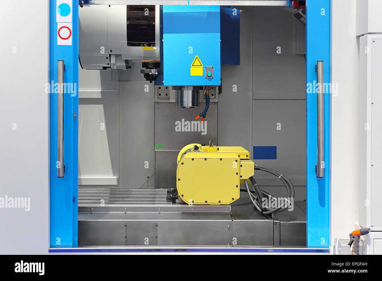 Machining center - Stock Image