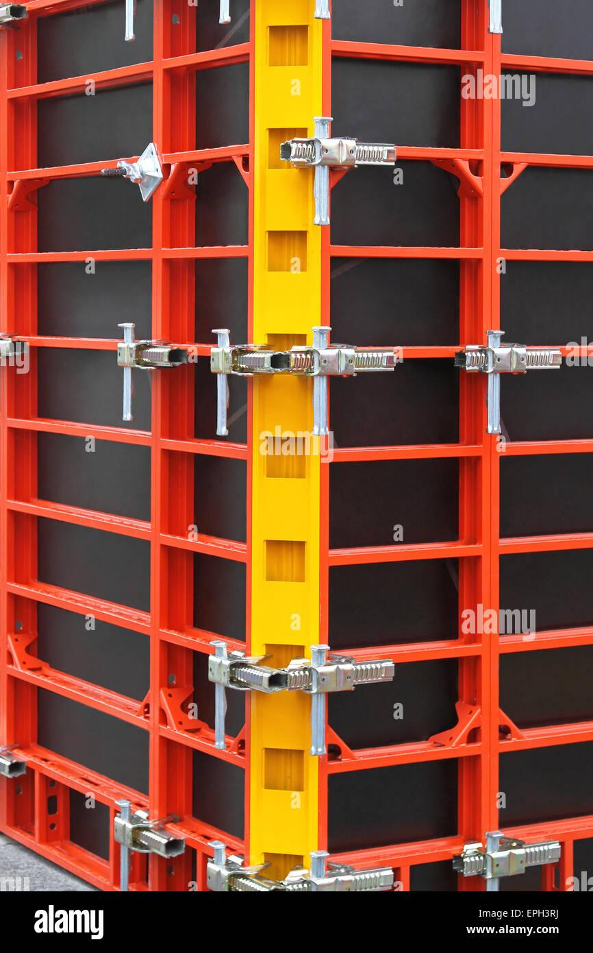 Formwork scaffolding - Stock Image