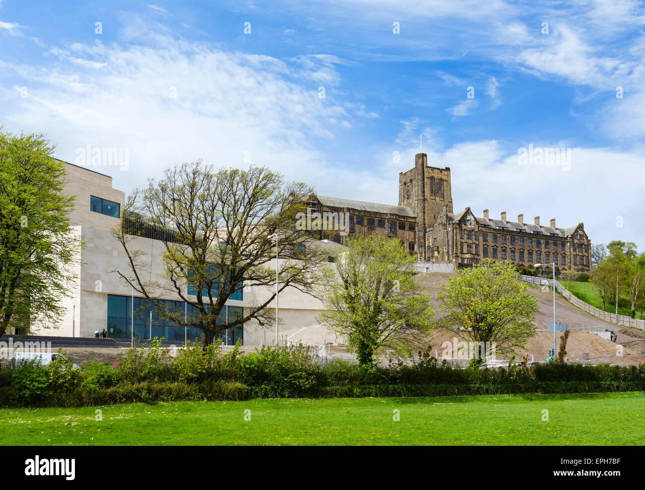 Bangor University, Bangor, Gwynedd, Wales, UK - Stock Image