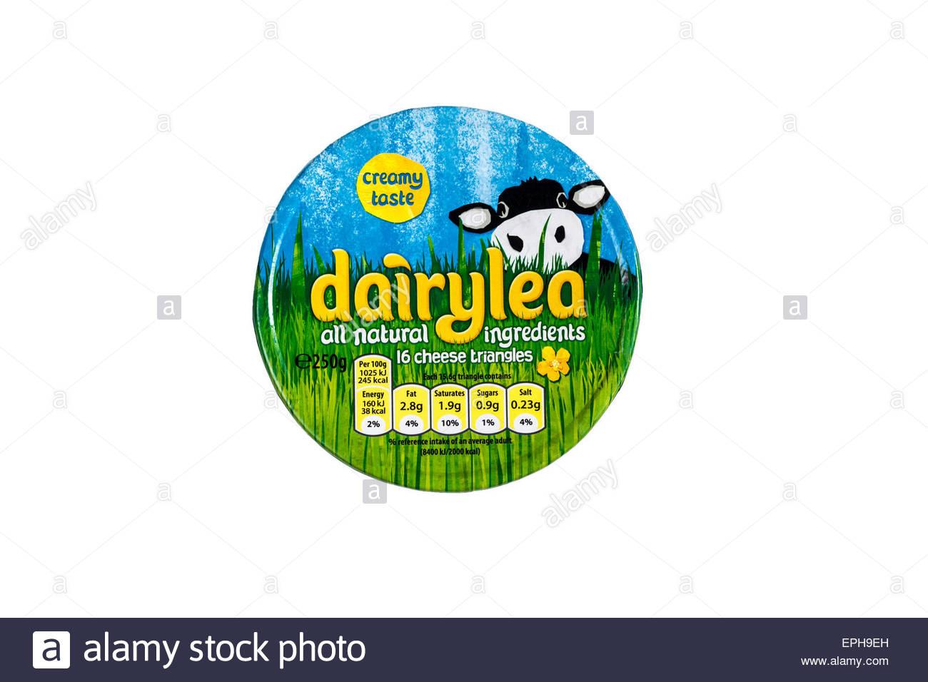 Dairylea Triangles Box - Stock Image