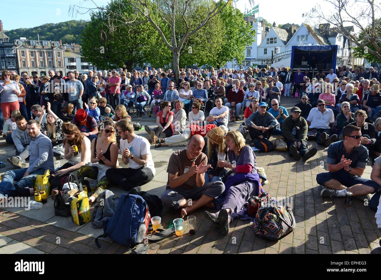 Dart Music Festival at Dartmouth Devon Uk 2015 - Stock Image