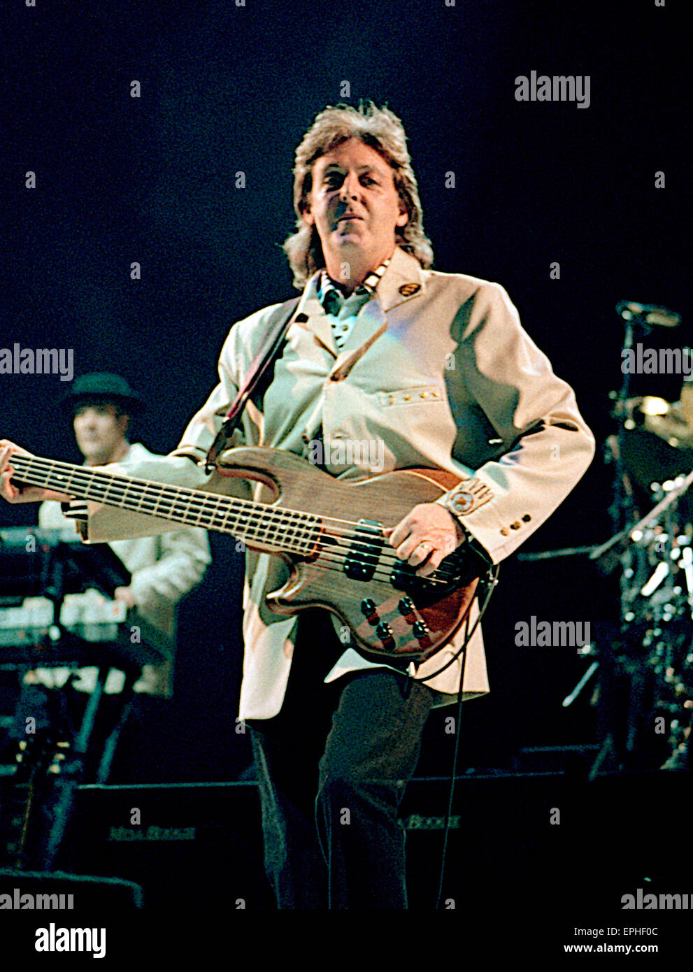 Washington DC USA 4th July 1990 Paul McCartney In Concert For The Fourth Of World Tour Was A Worldwide By