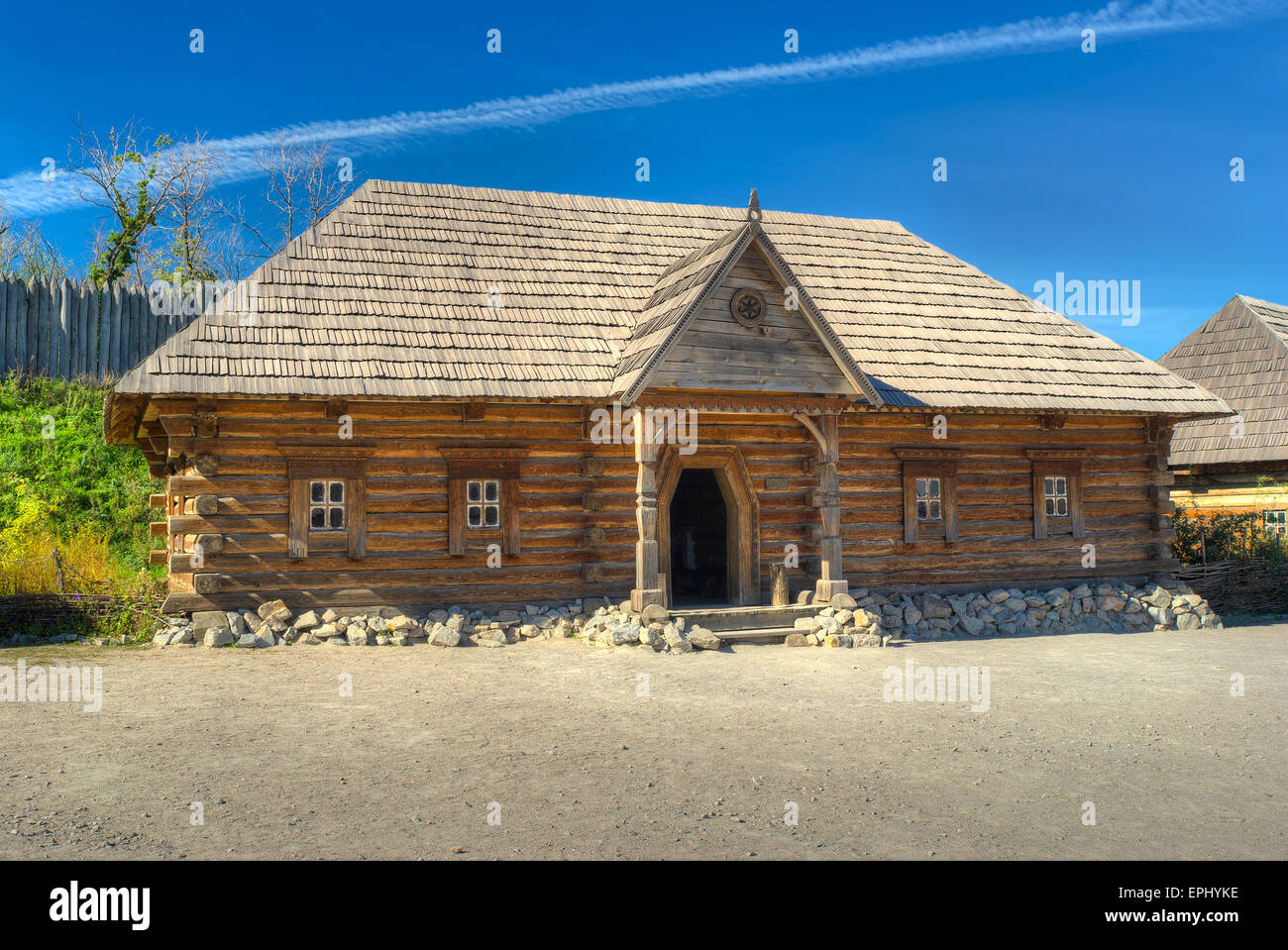 Old Log House Stock Photos Amp Old Log House Stock Images