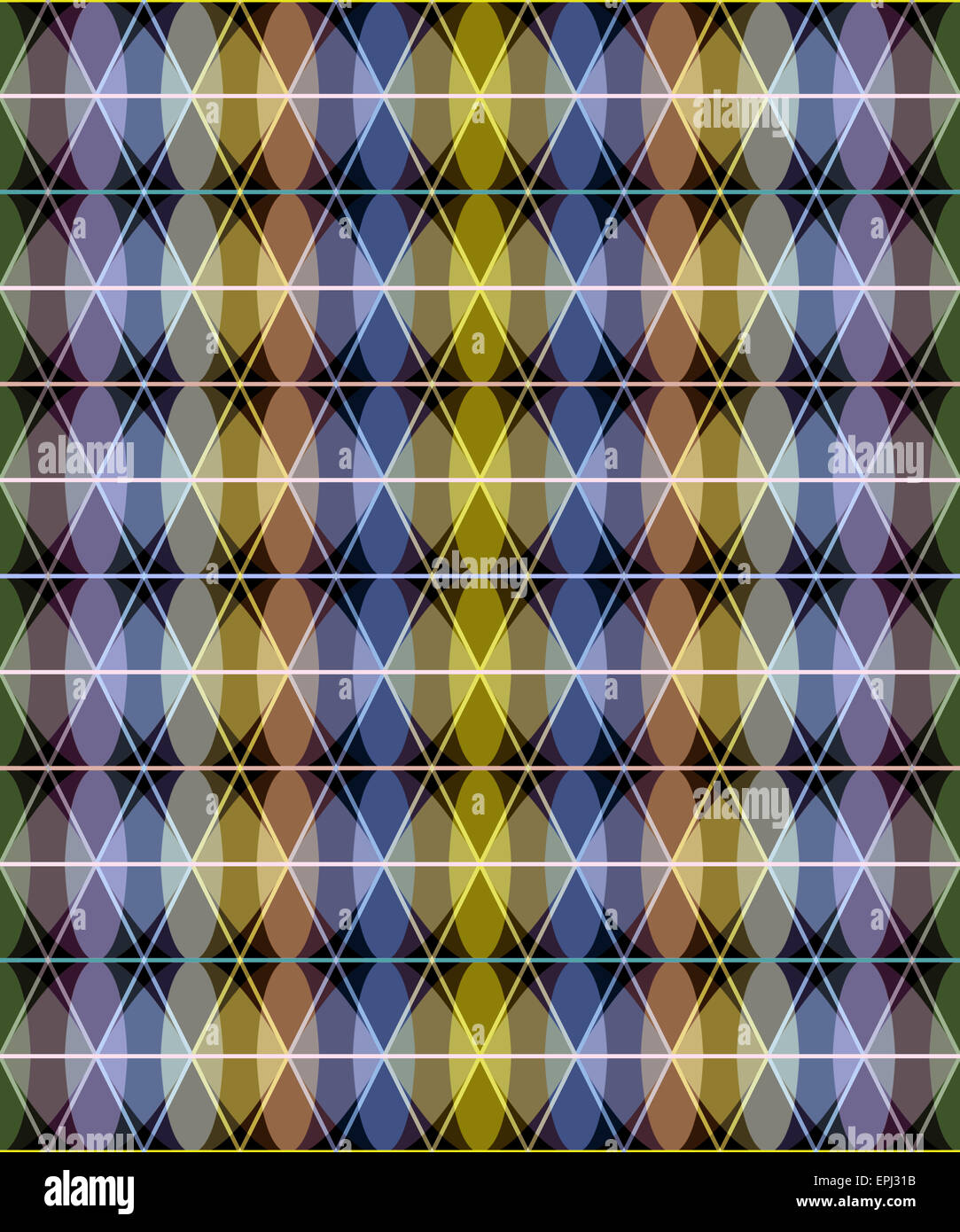 seamless pattern - Stock Image