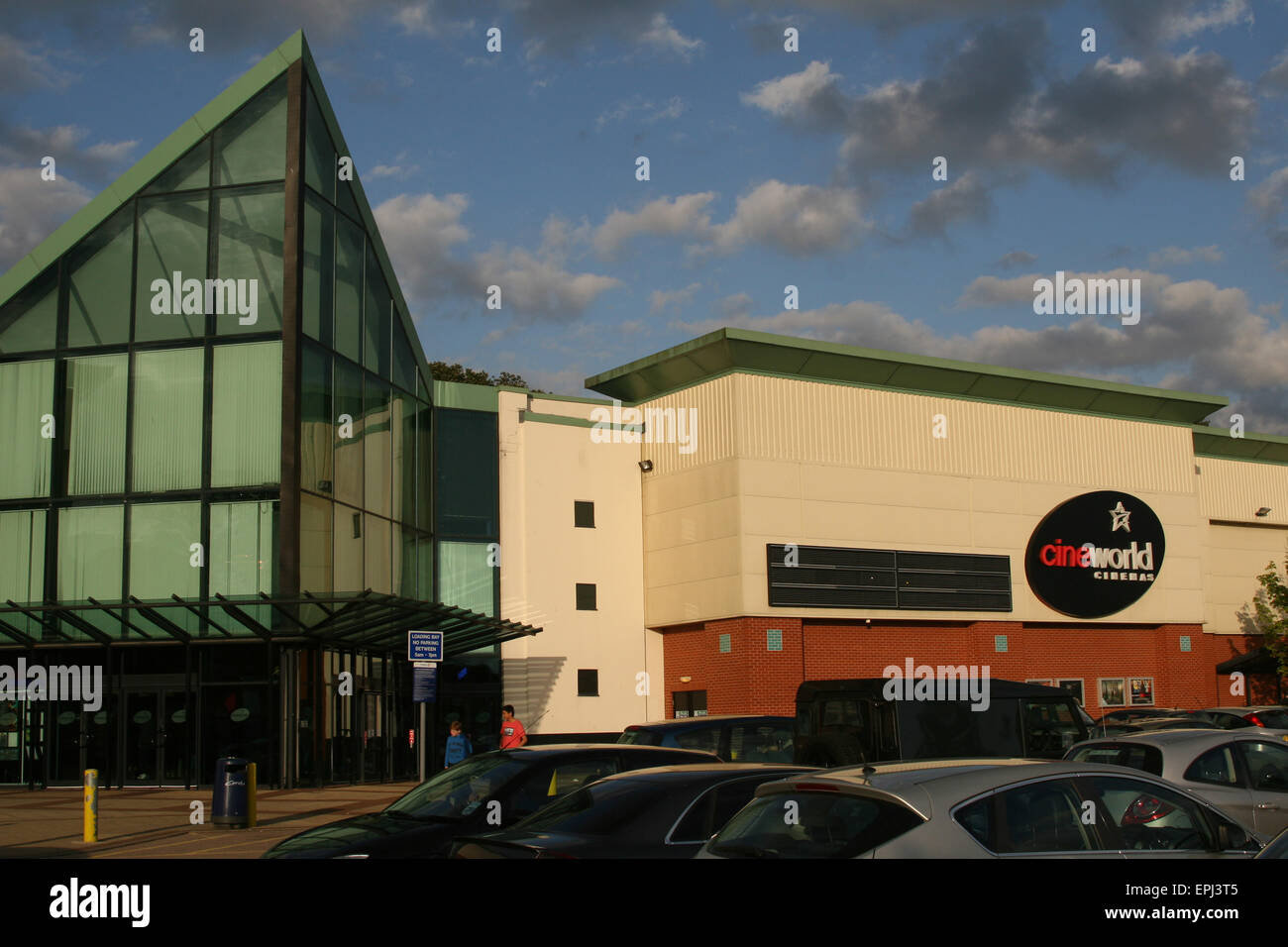 CINEWORLD CINEMA CINEMAS CINE - Stock Image