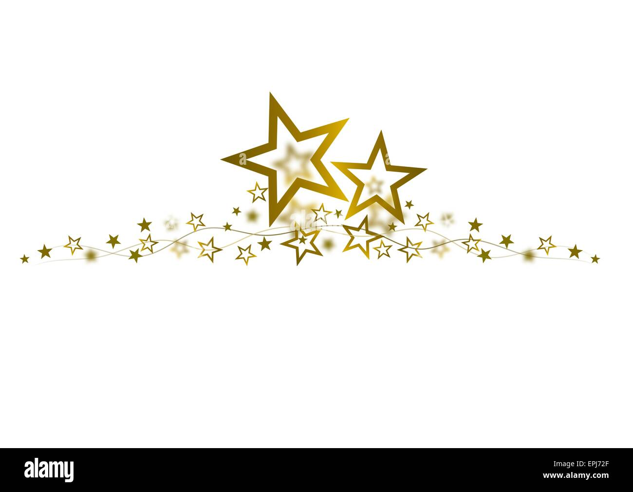 golden stars cut out stock images pictures alamy