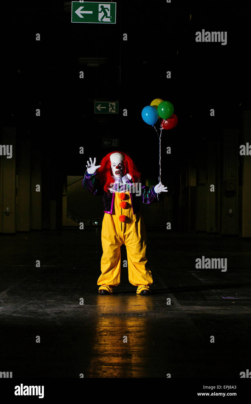 Pennywise at the Role Play Convention 2015 in Cologne, Germany. On May 17, 2015. - Stock Image