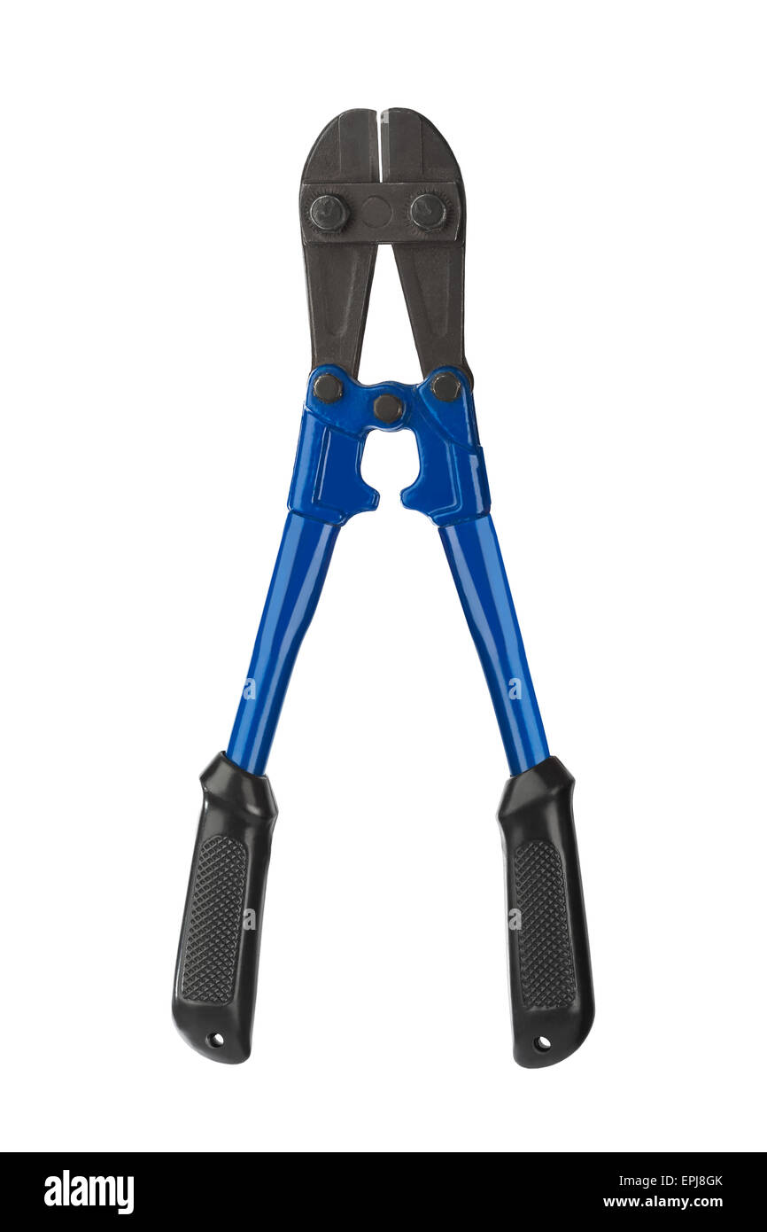 Tool bolt cutters - Stock Image