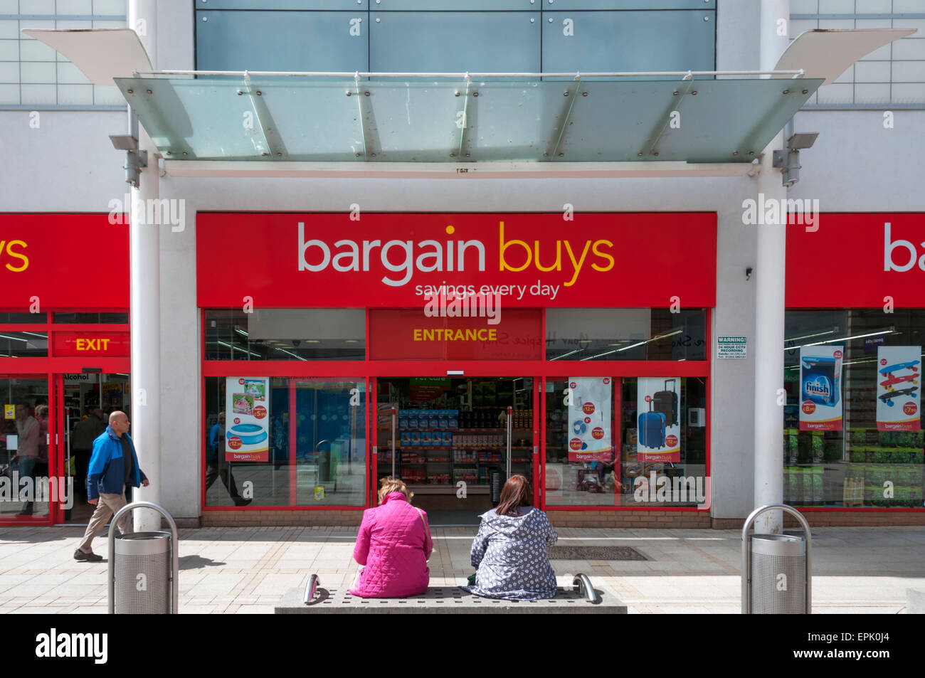 A branch of Bargain Buys in King's Lynn. - Stock Image