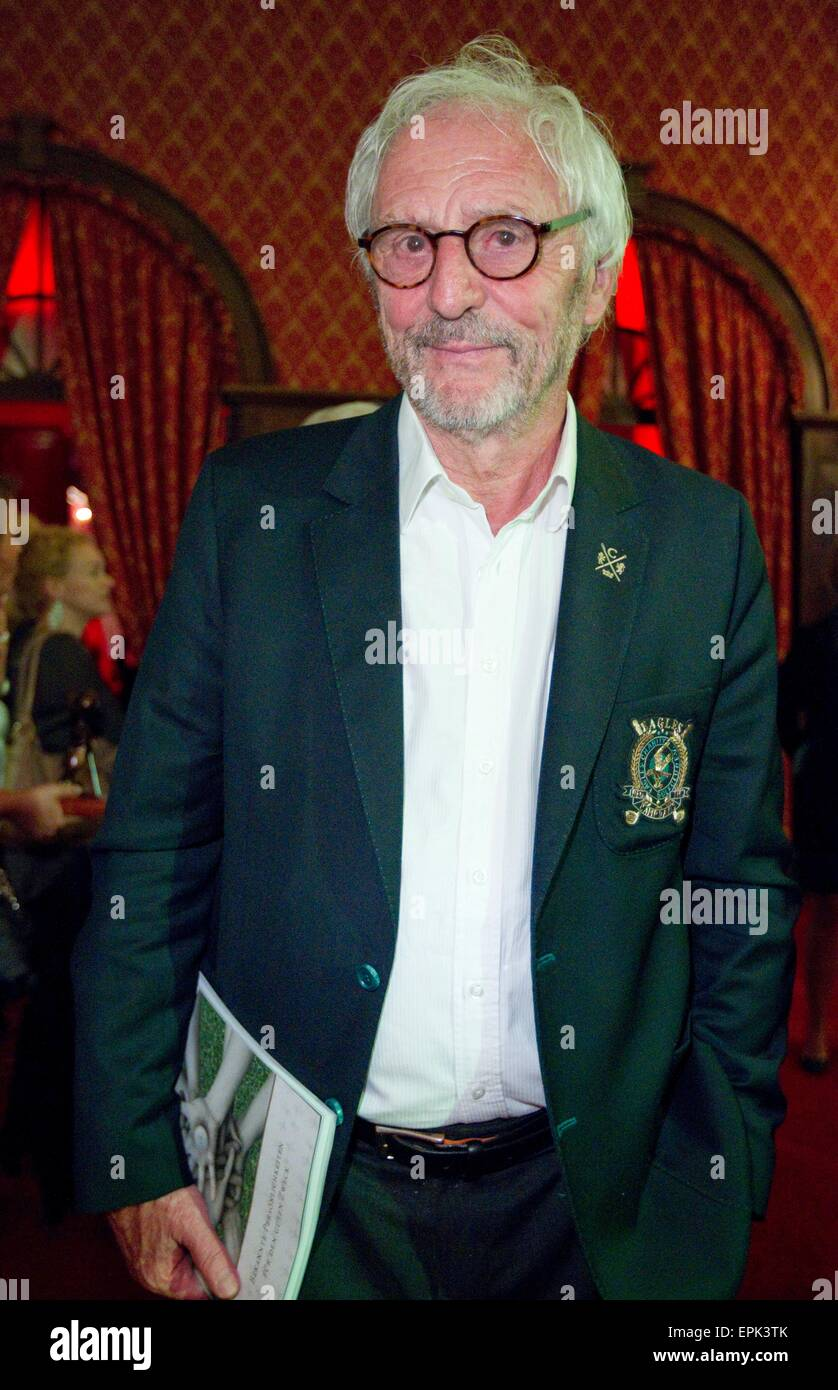 Rust, Germany - May 4, 2015: Eagles Charity Golf Cup and Gala at Golfclub Breisgau and Europa Park, Rust with Actor - Stock Image