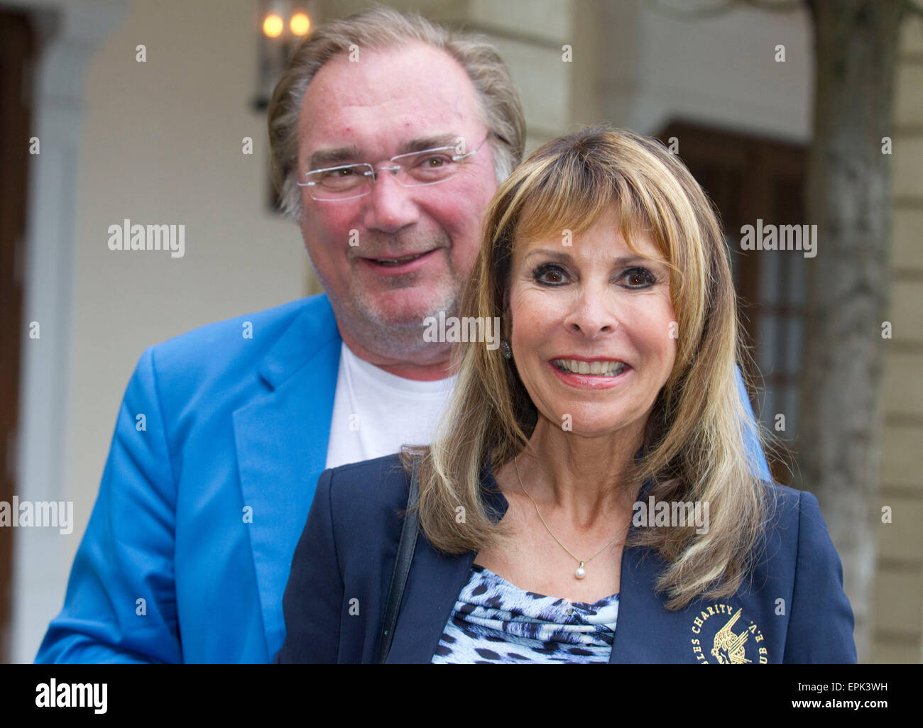 Rust, Germany - May 4, 2015: Eagles Charity Golf Cup and Gala at Golfclub Breisgau and Europa Park, Rust with Singer - Stock Image