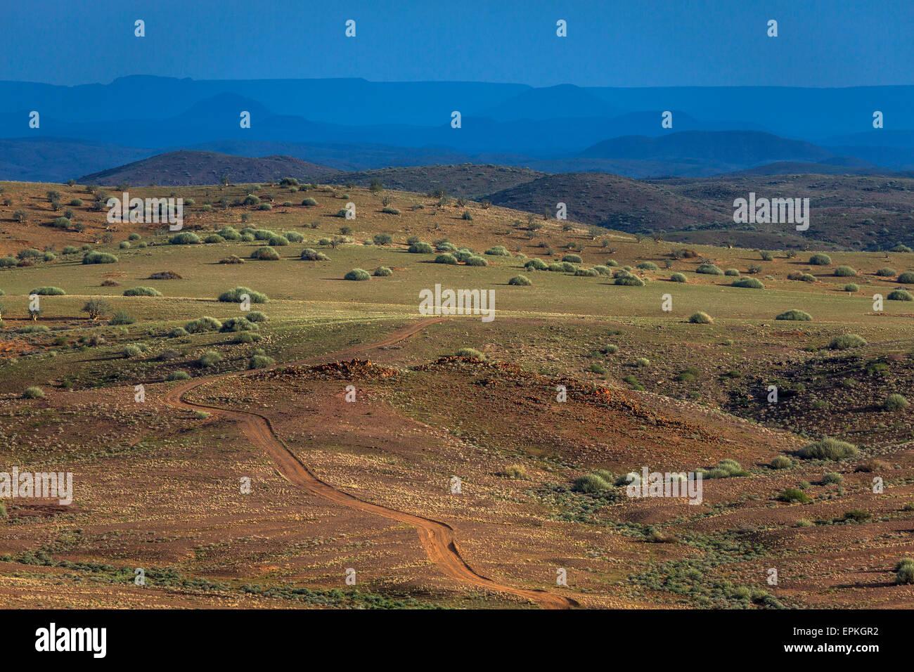 Landscape, Okonjima,Namibia, Africa. - Stock Image