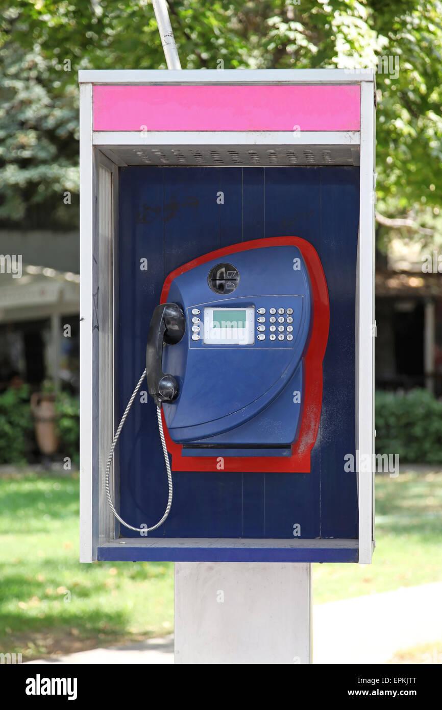 Payphone - Stock Image
