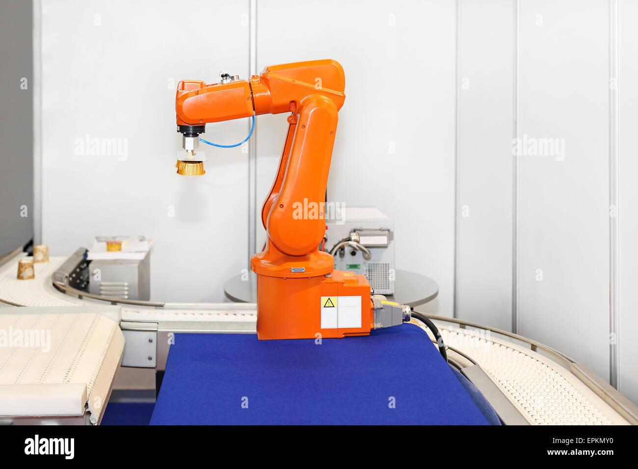 Robotic arm - Stock Image