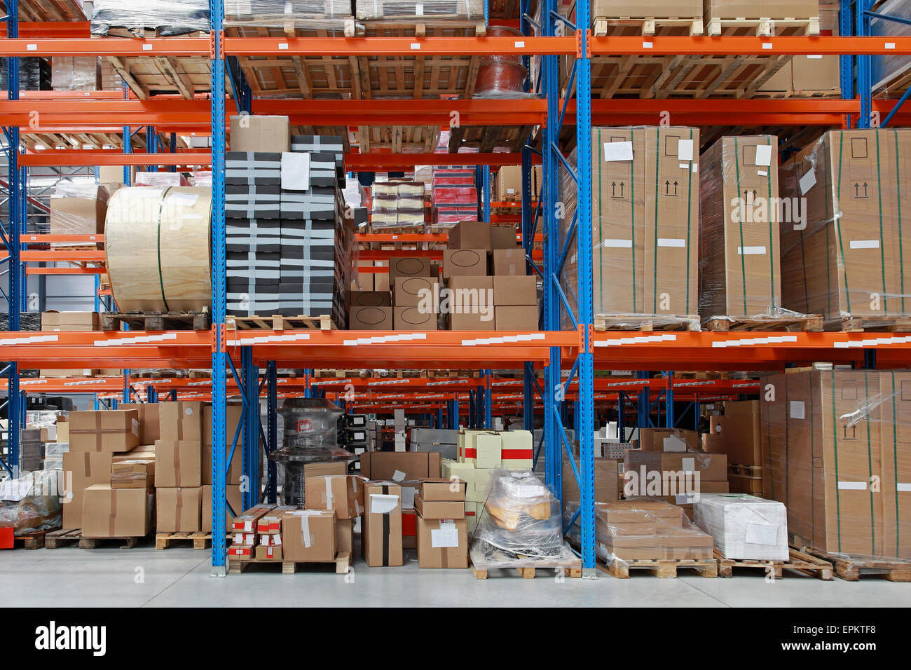 Warehouse - Stock Image
