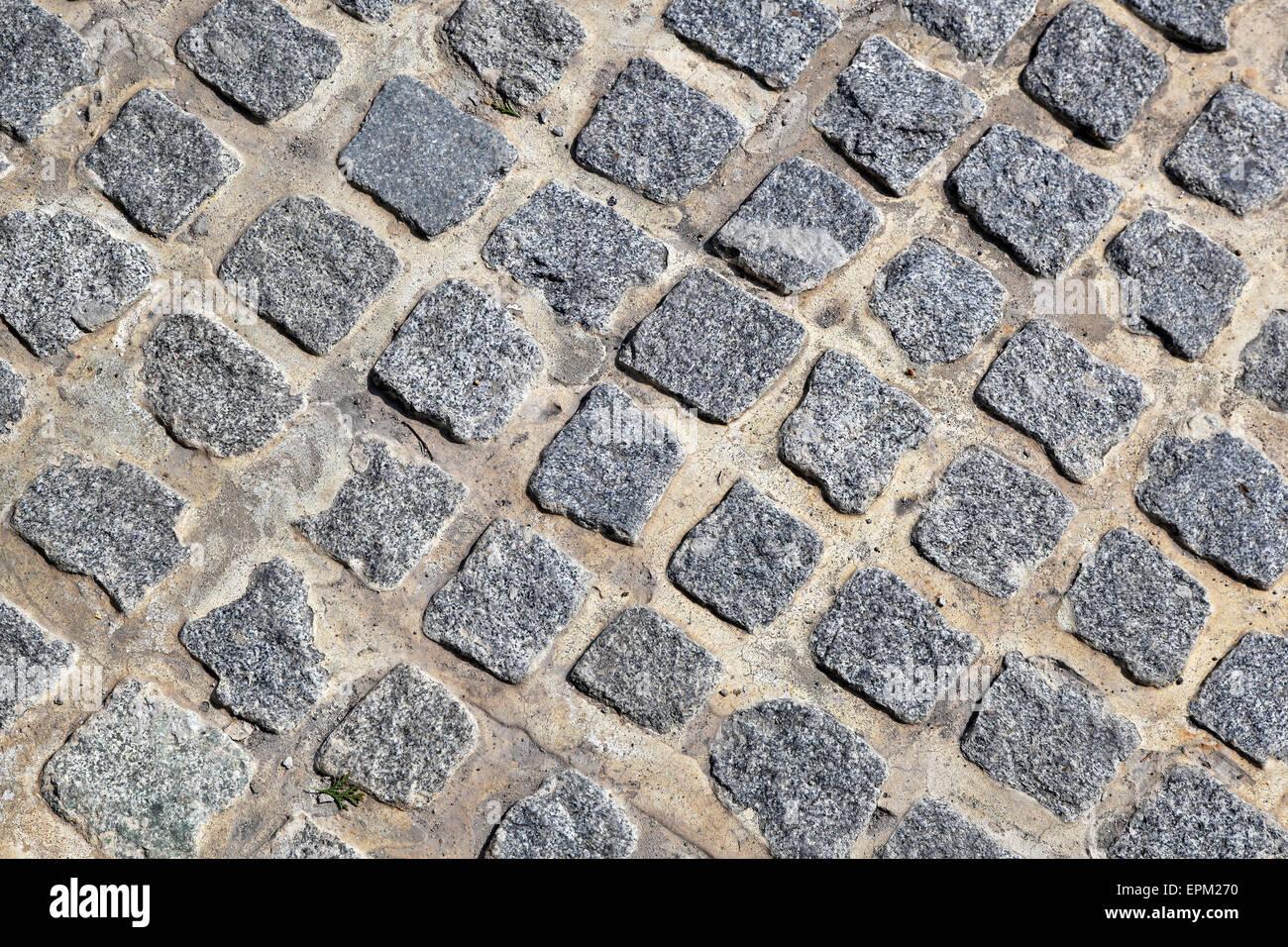 Cobblestone - Stock Image