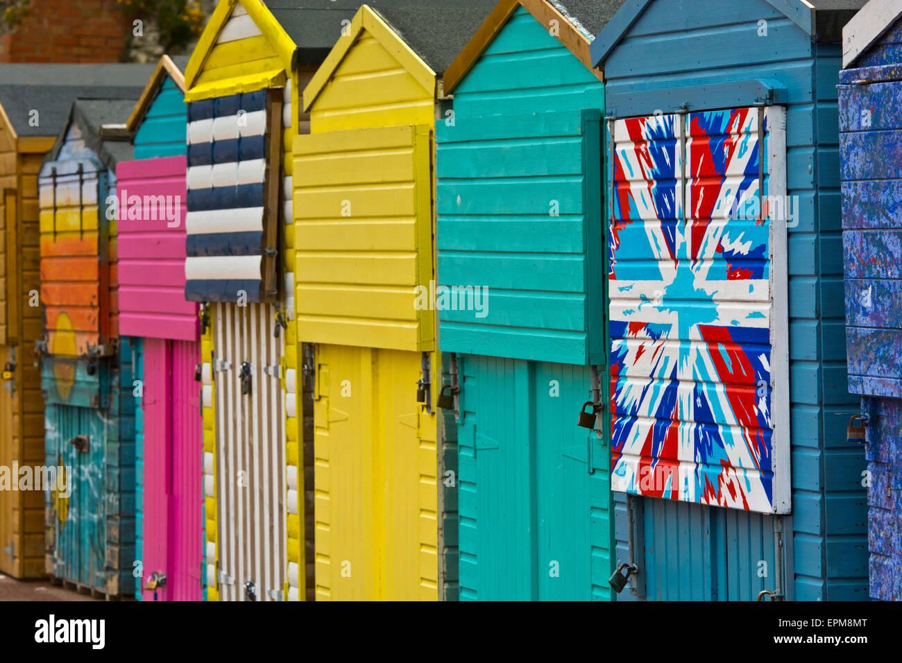 Union Jack Flag Painted On Stock Photos & Union Jack Flag Painted On ...