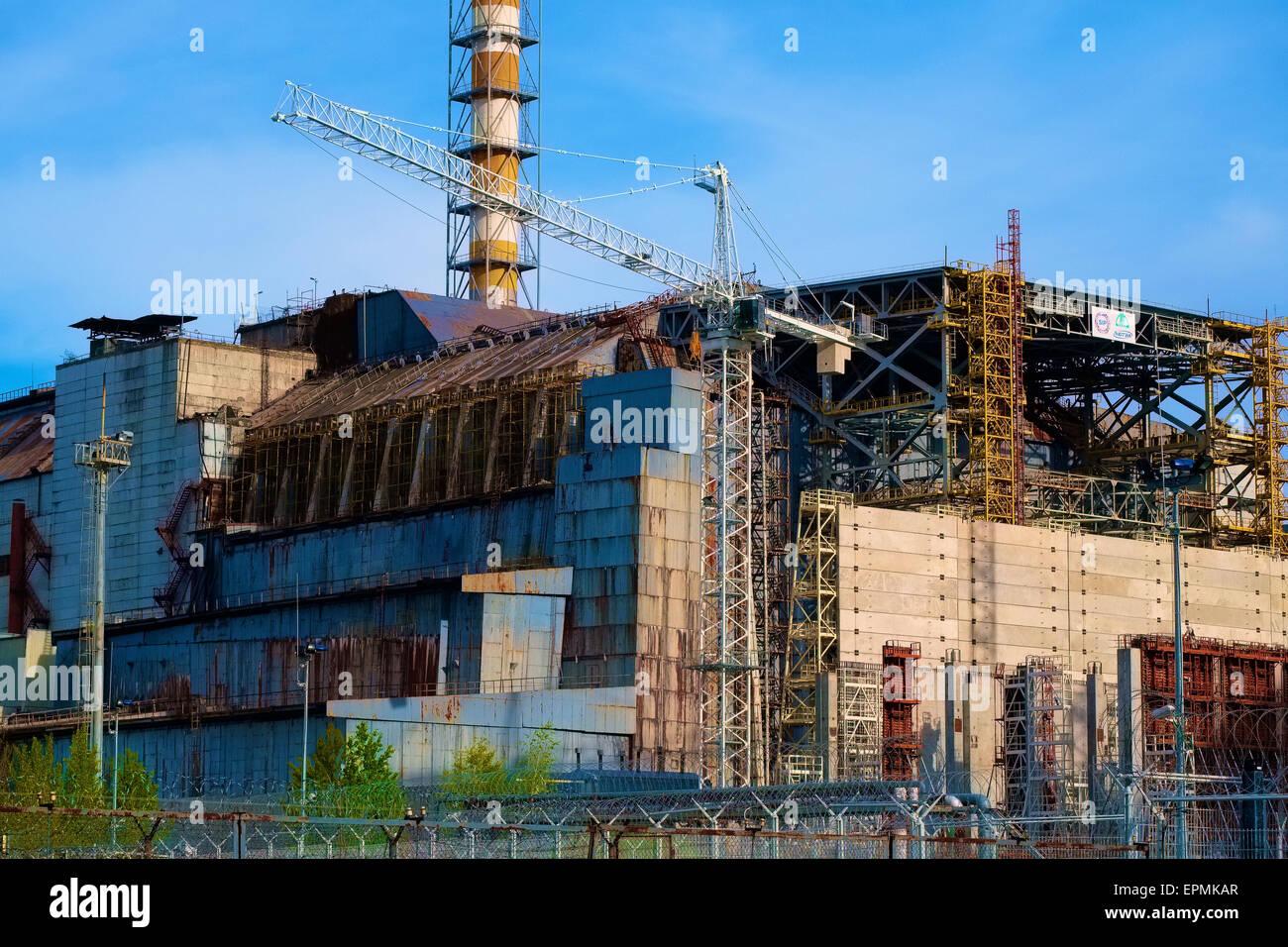 Reactor 4 - Stock Image