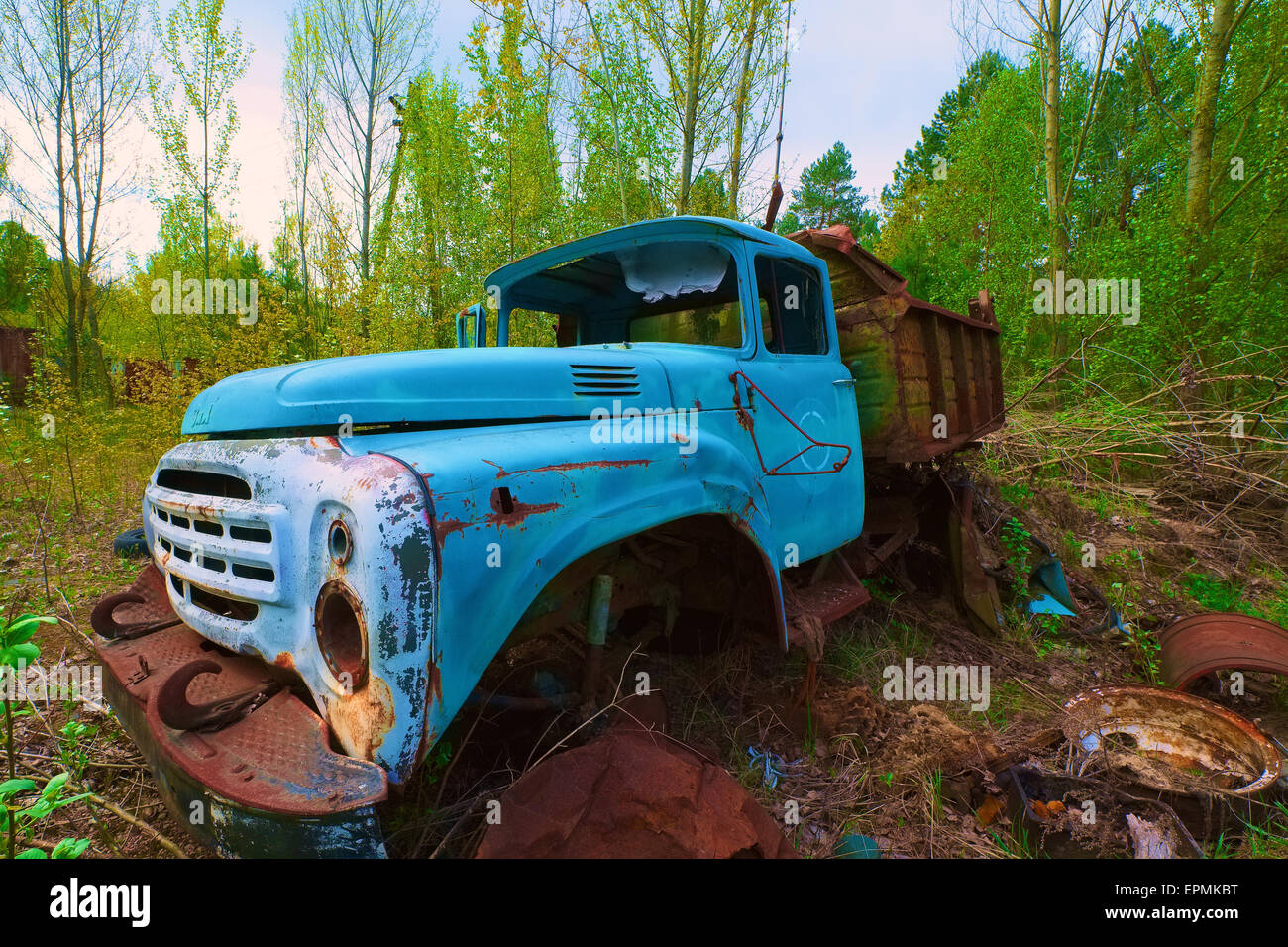 Junk yard - Stock Image