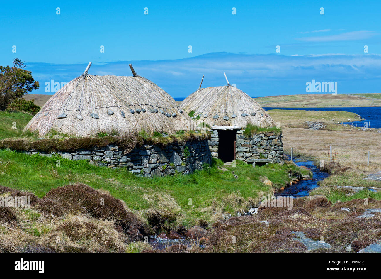 Shawbost Norse Mill and Kiln, Isle of Lewis, Outer Hebrides, Scotland UK - Stock Image