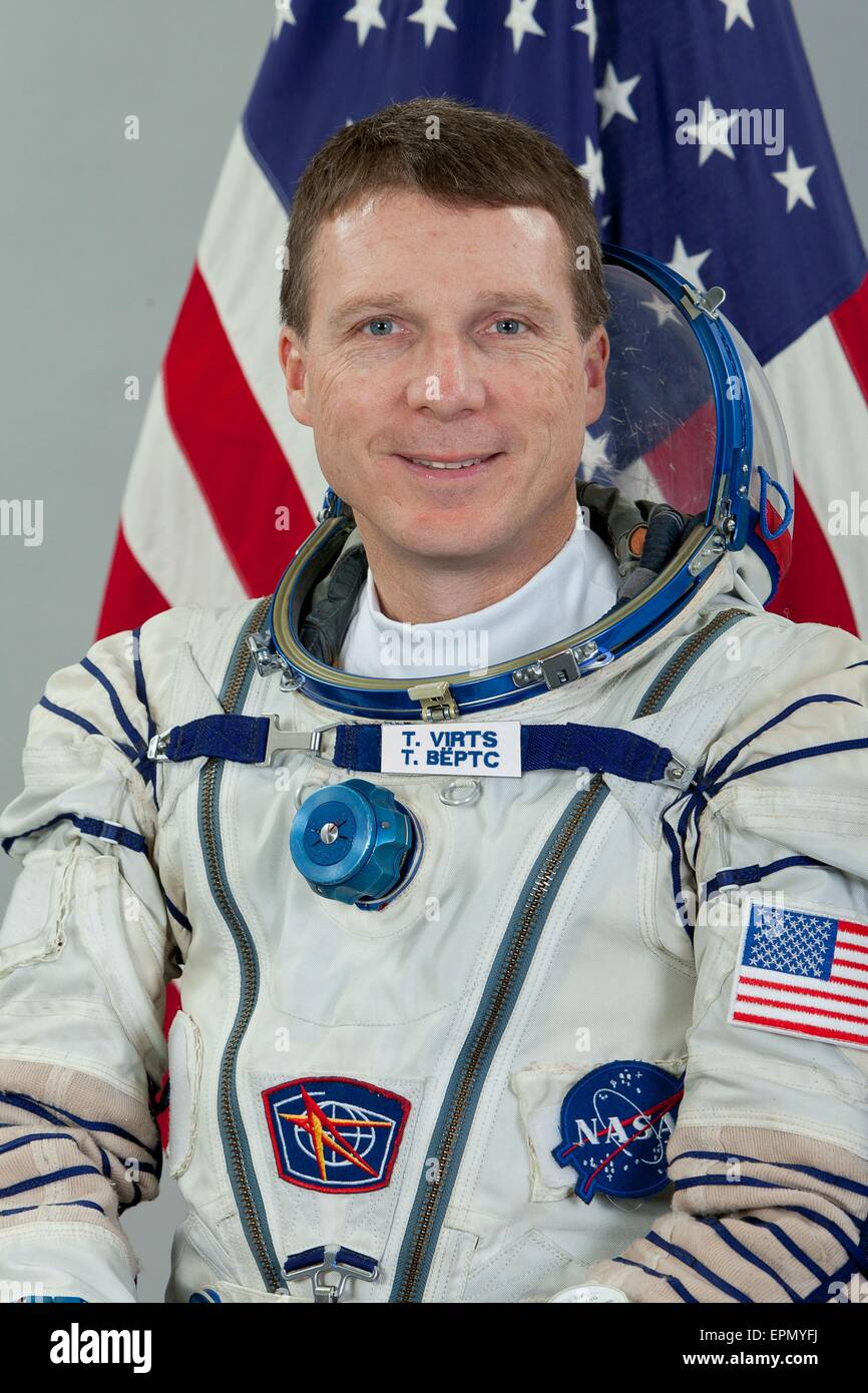 International Space Station Expedition 40 backup crew member NASA astronaut Terry Virts portrait at the Gagarin - Stock Image
