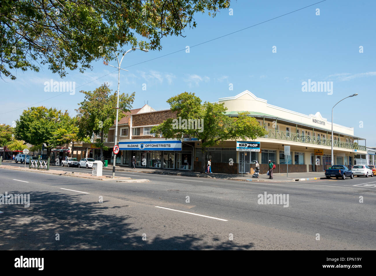 Main Street, Somerset West, Helderberg District, Cape Peninsula, Western Cape Province, Republic of South Africa - Stock Image