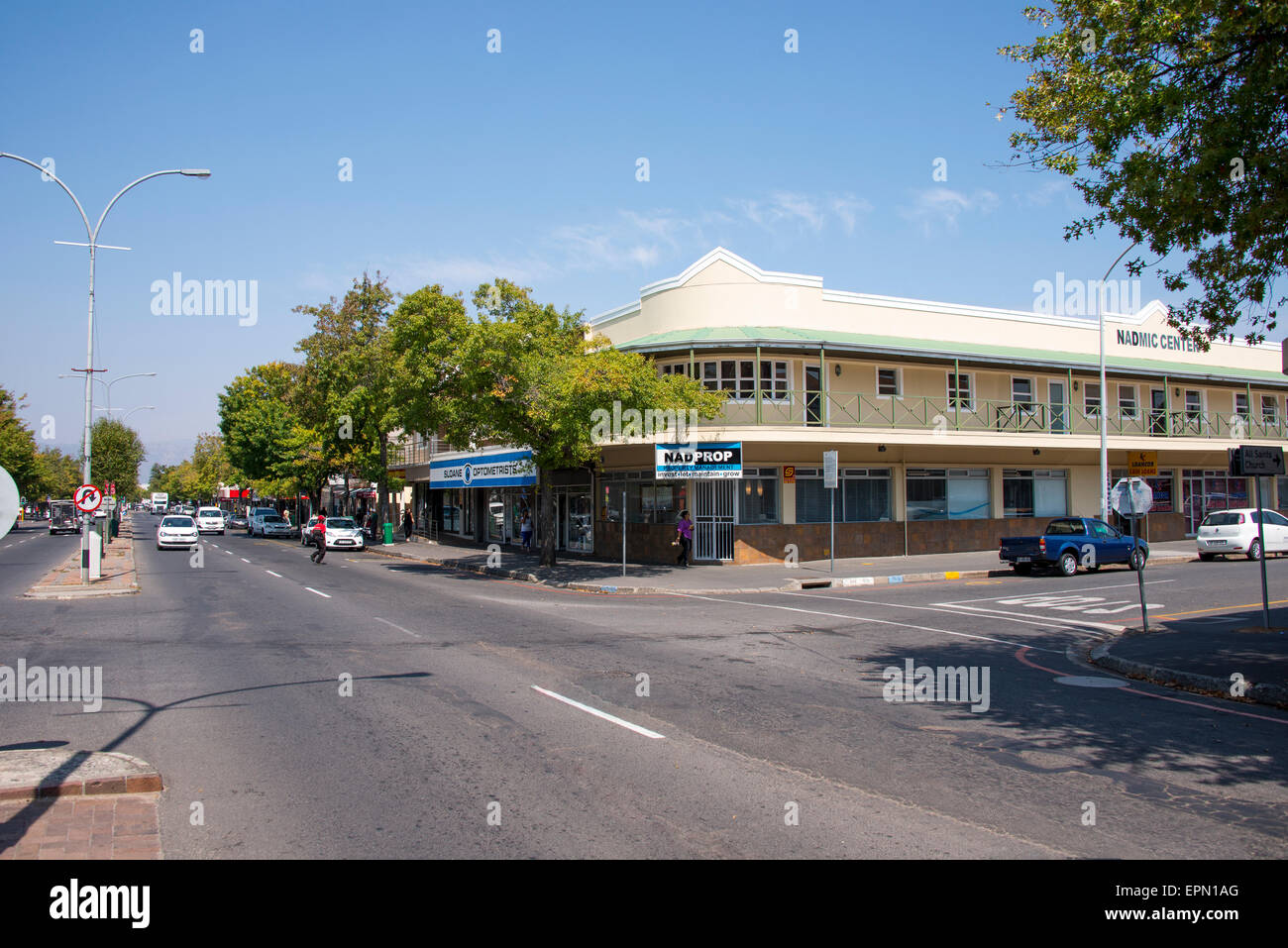 Main Street, Somerset West, Helderberg District, Cape Peninsula, Western Cape Province, Republic of South Africa Stock Photo