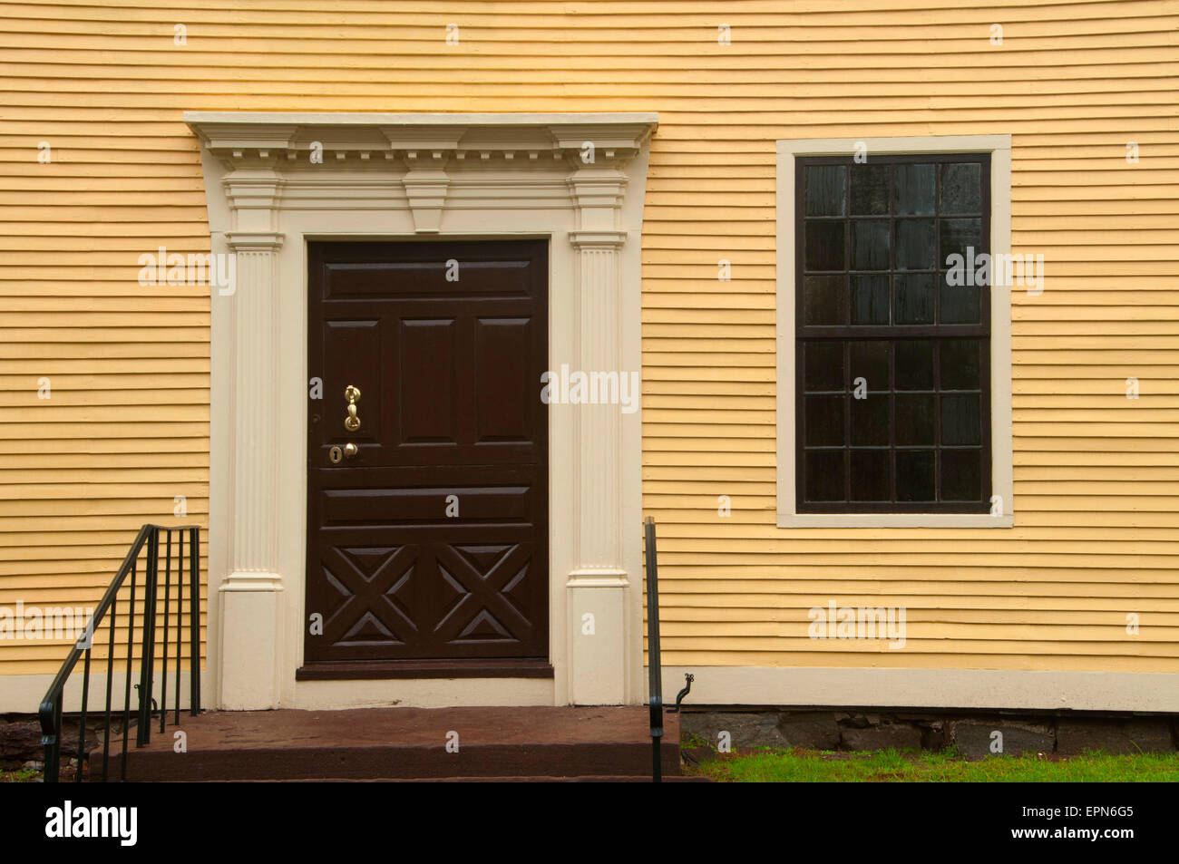 Silas Deane House, Wethersfield, Connecticut - Stock Image