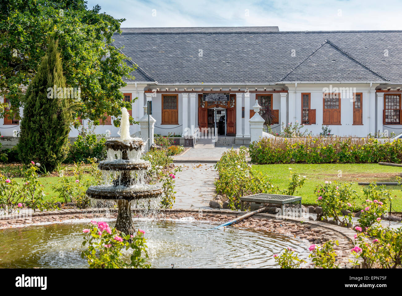 The Burgerhuis, Stellenbosch, Cape Winelands District, Western Cape Province, Republic of South Africa - Stock Image
