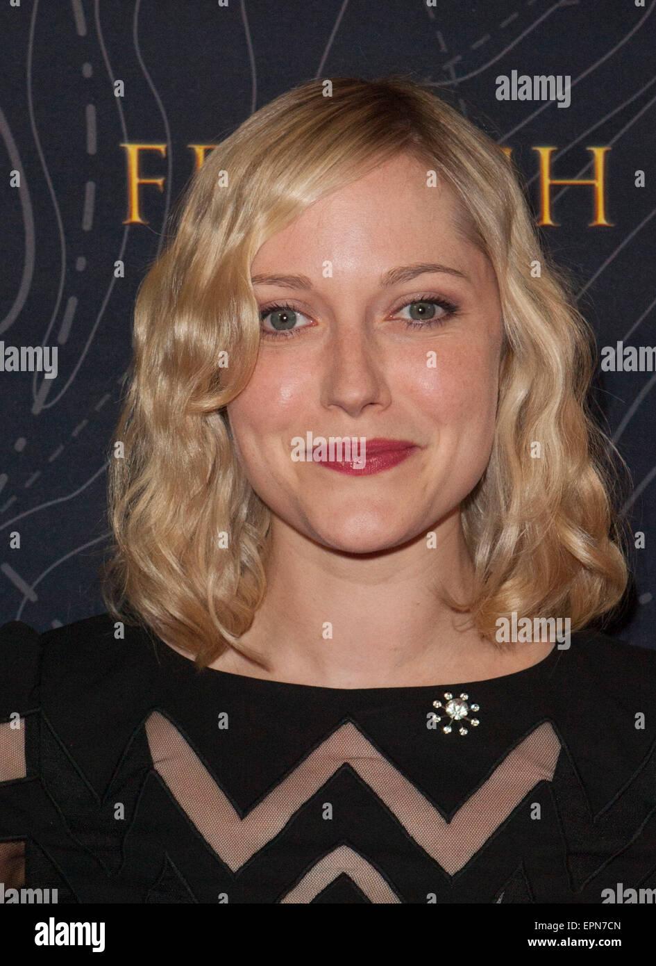 Los Angeles, California, USA. 19th May, 2015. Georgina Haig arrives at the 'French Kiss'' Film Premiere - Stock Image