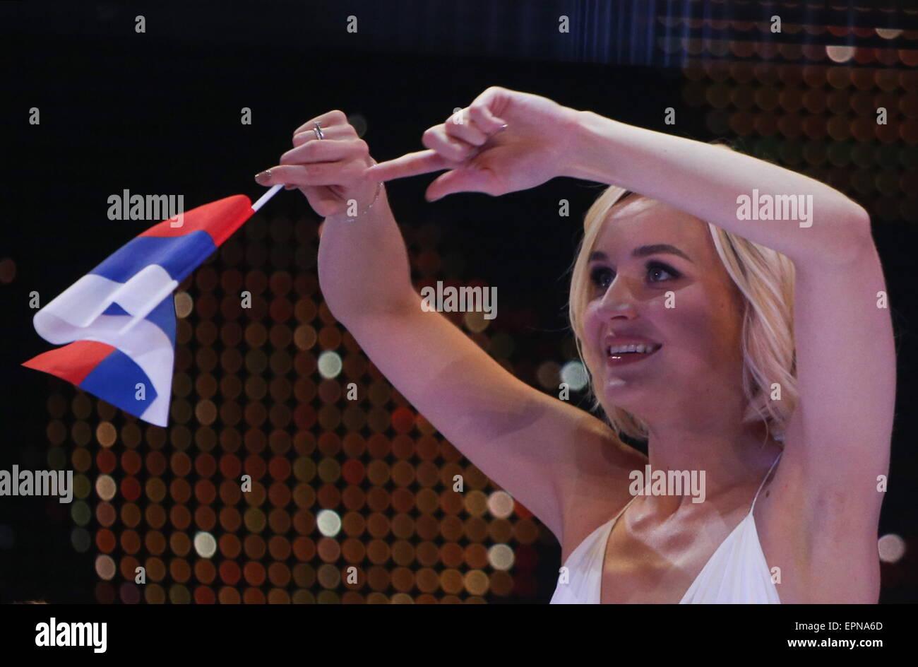 Russian singer Polina Gagarina reached the Eurovision final 20.05.2015 66