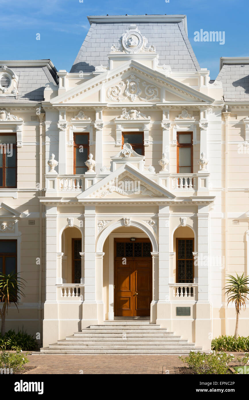 Faculty of Theology (University of Stellenbosch) building, Stellenbosch, Western Cape Province, Republic of South - Stock Image
