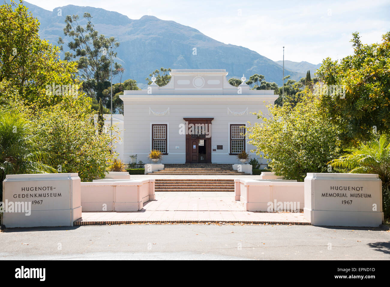 The Huguenot Memorial Musem, Franschhoek, Cape Winelands District, Western Cape Province, Republic of South Africa - Stock Image