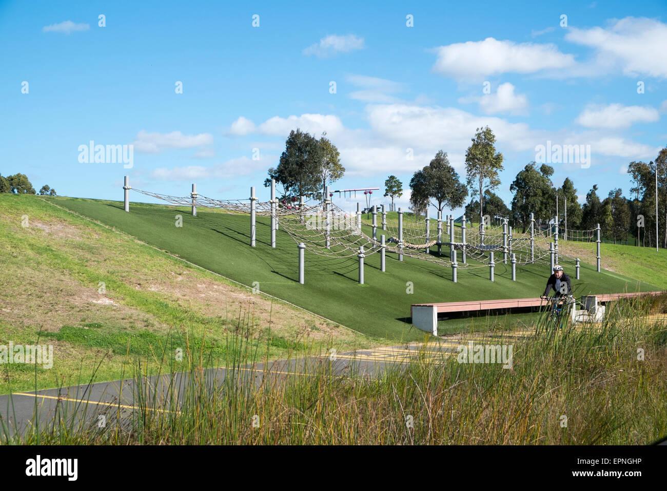 Blaxland Riverside Park In Sydney Olympic Parkwestern Sydneynew South Walesaustralia