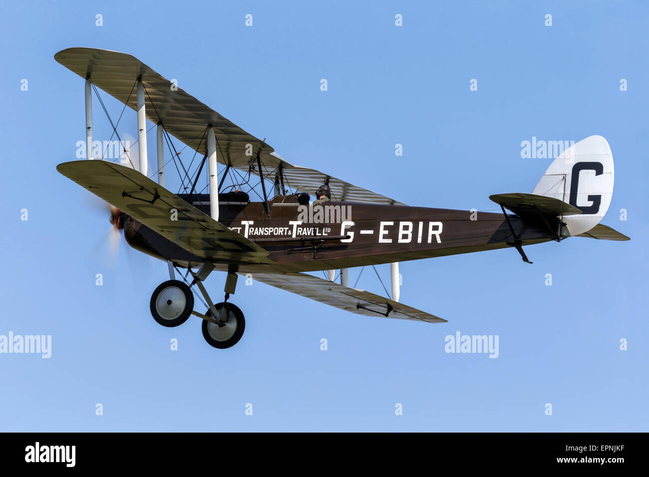 The rare De Havilland DH51 Miss Kenya - Stock Image