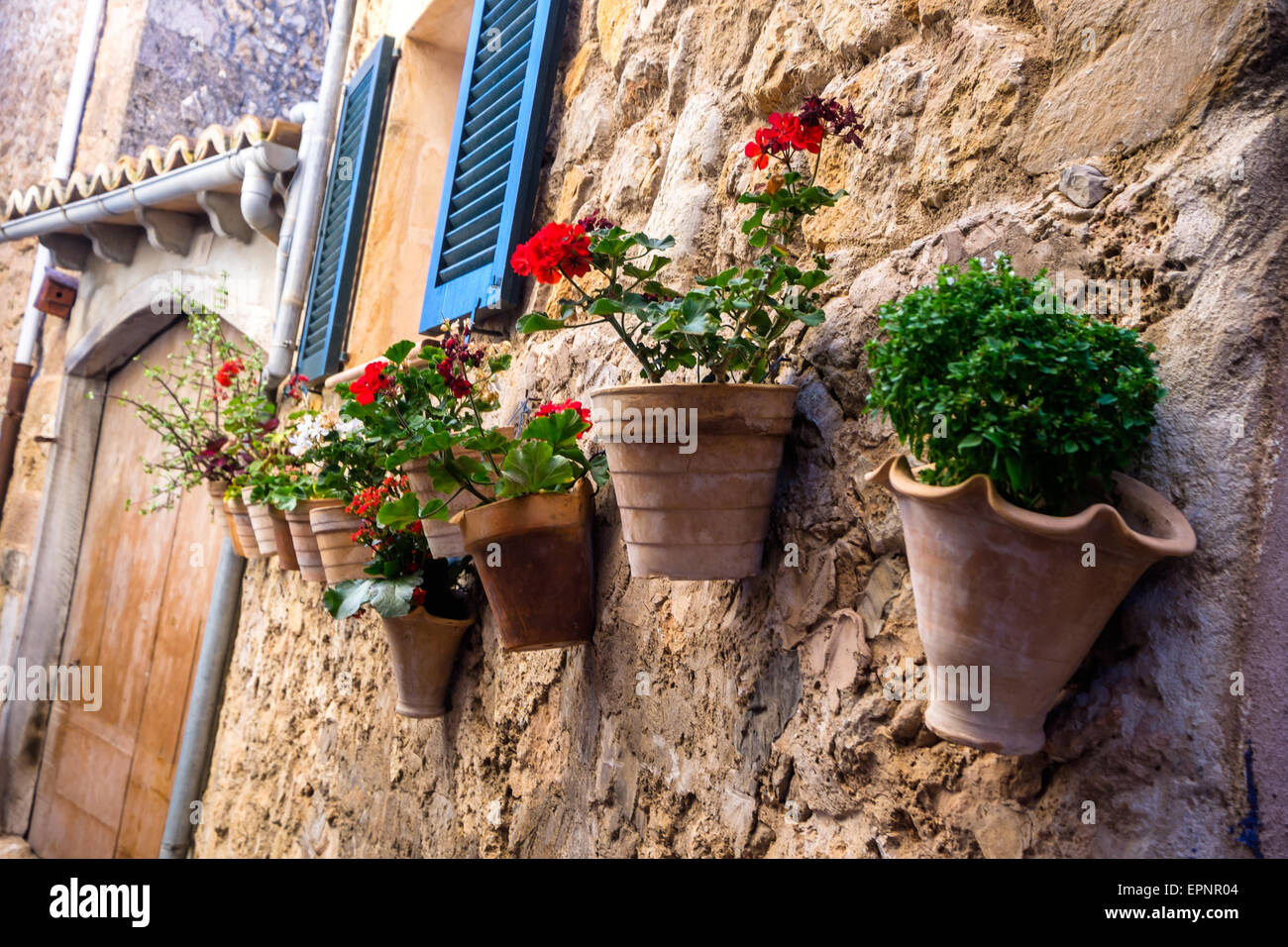 Greetings From Mallorca The Beautiful Island In Spain Stock Photo