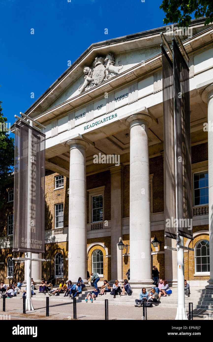 The Saatchi Gallery, Duke of York's Headquarters, London, England - Stock Image