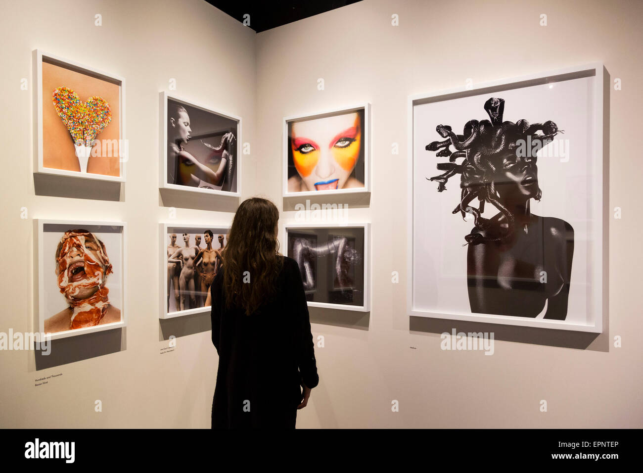 London, UK. 20 May 2015. British photographer Rankin is also present at the fair. Press preview of the art fair - Stock Image