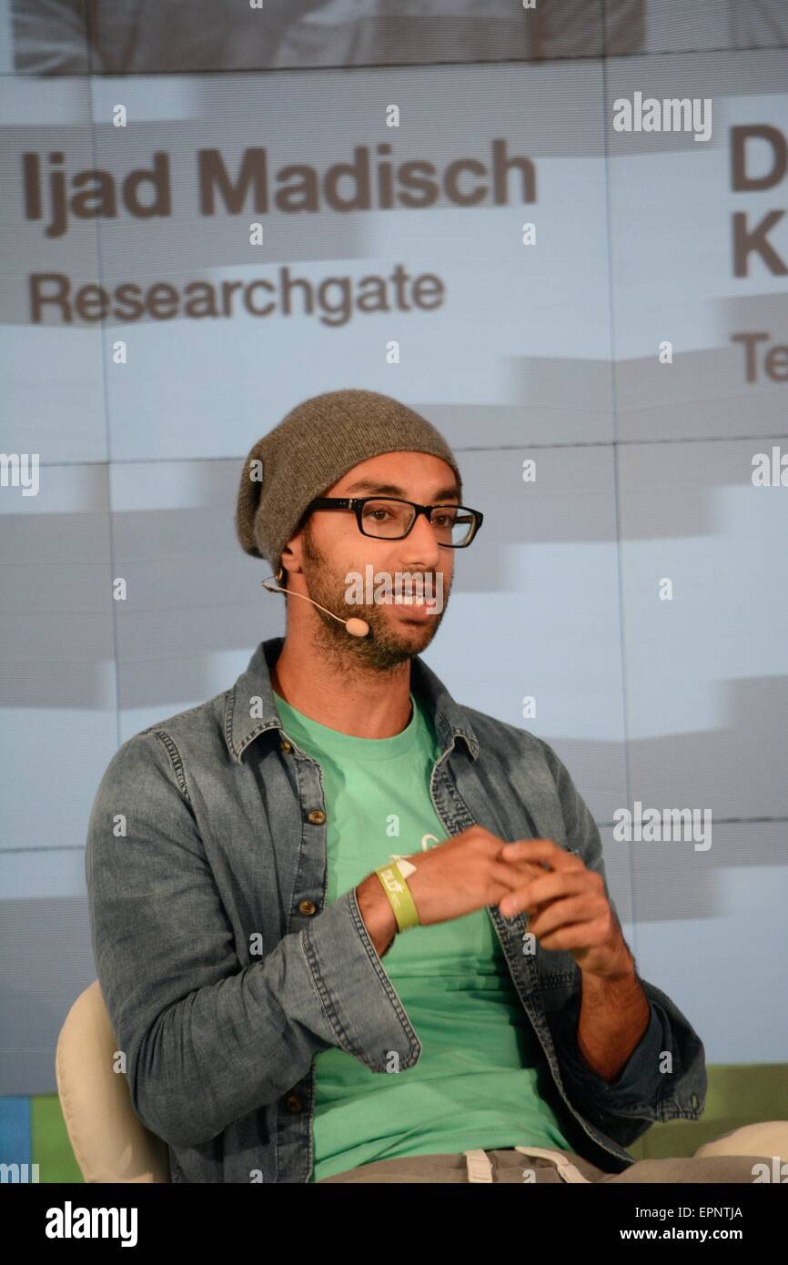 6a7b472246 On May 6-7 2015.- (l-r) Ijad Madisch (co-founder and CEO of ResearchGate)  during the DLD Conferences in New York. Hubert Burda Media brings together  the ...