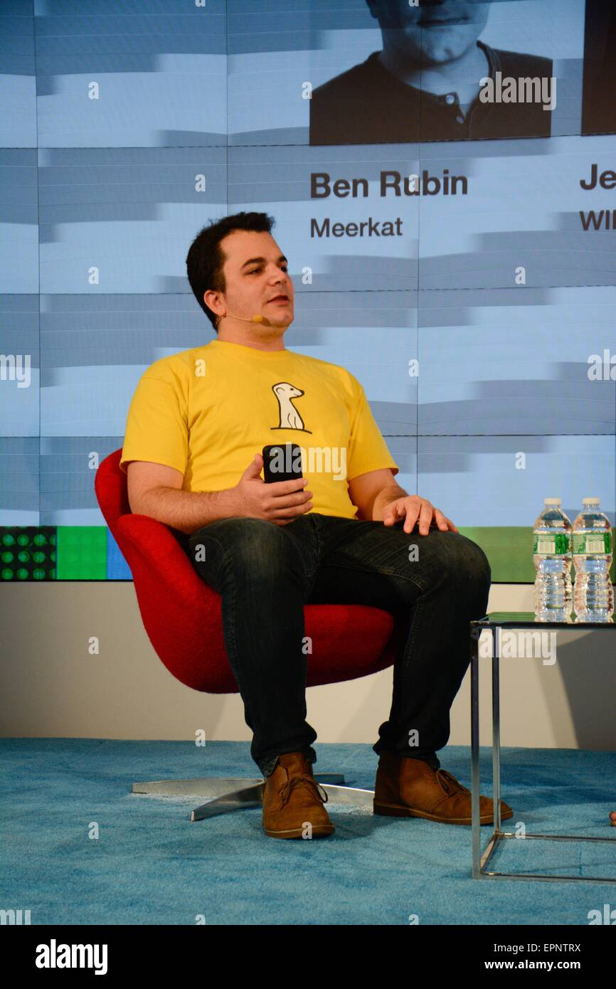 4f32c491cb On May 6-7 2015.- Ben Rubin (CEO and co-founder of Life on Air Inc. and  popular Meerkat app) during the DLD Conferences in New York.