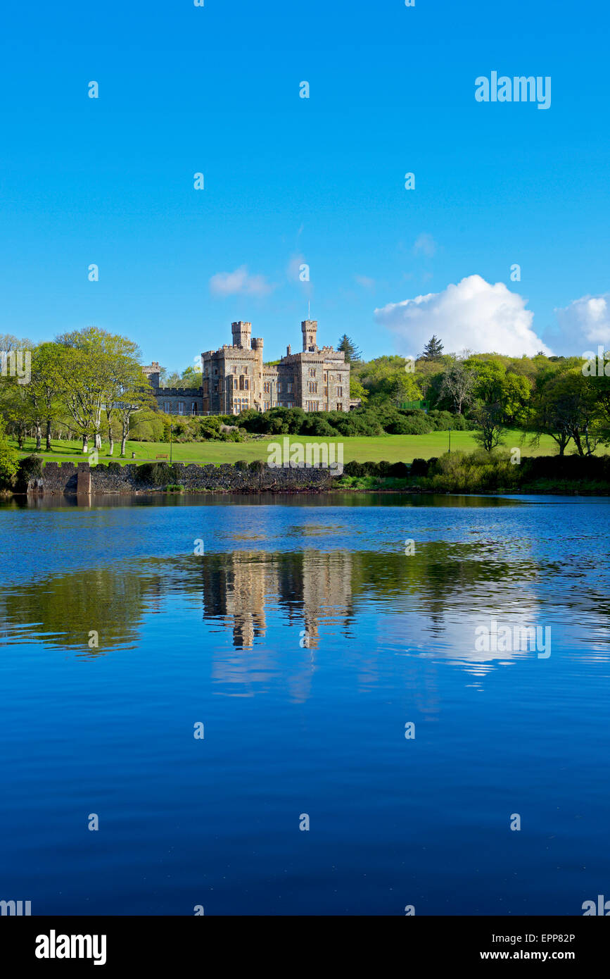 Lewis Castle, Stornoway, Isle of Lewis, Outer Hebrides, Scotland UK - Stock Image